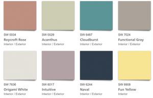 SW Good Vibes Color Palette