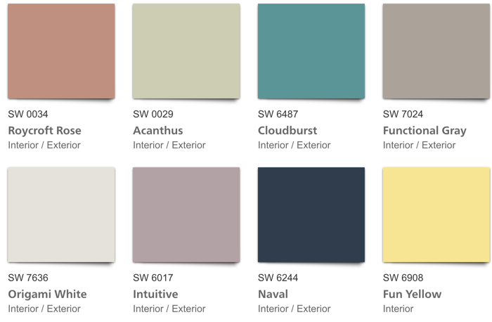 SW Good Vibes Color Palette