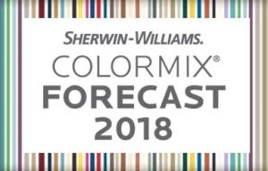 Sherwin-Williams Colormix Forecast 2018