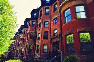 Urban Apartment Neighborhood