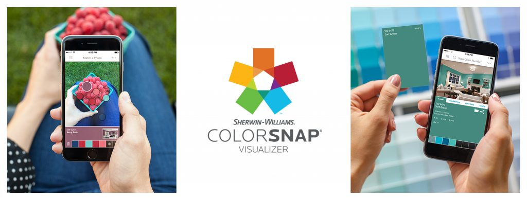 Sherwin-Williams Color Snap Visualizer
