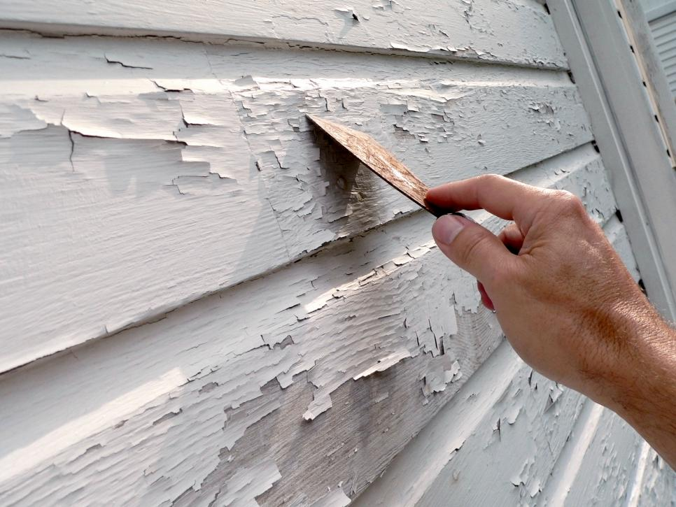 exterior paint chipping