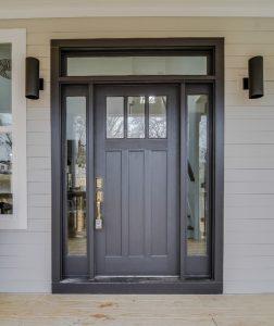 Sherwin Williams Black Magic Front Door