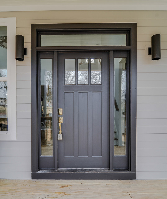 Sherwin Williams Black Magic Front Door