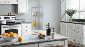 sherwin williams blue kitchen