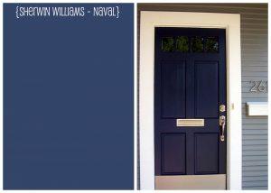 Sherwin Williams Naval SW 6244