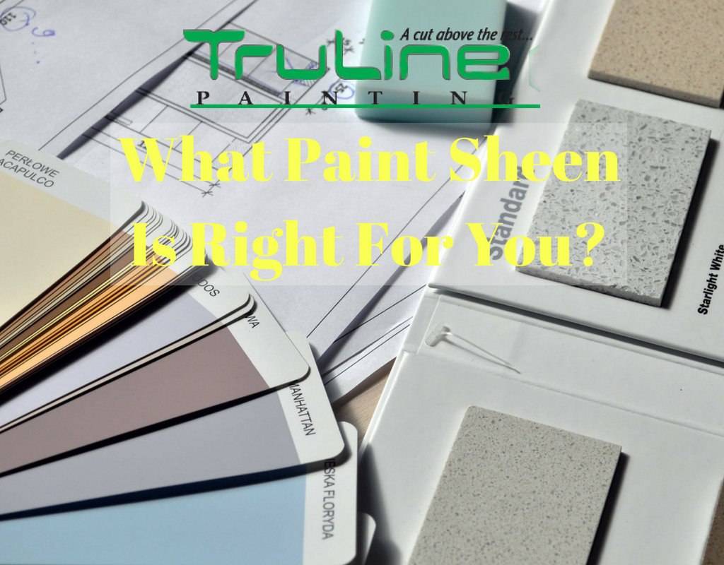truline painting paint sheen