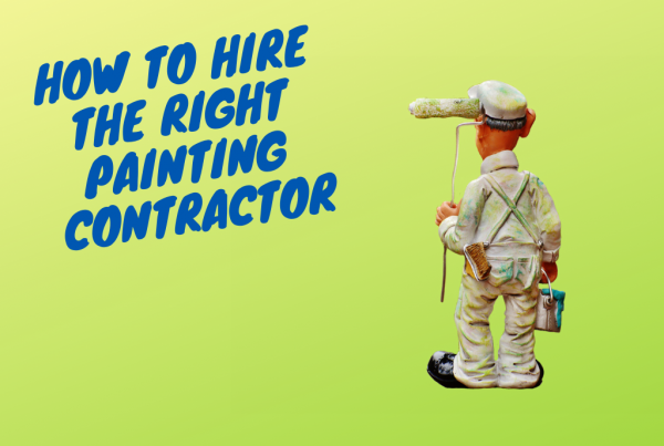 how to hire the right painting contractor