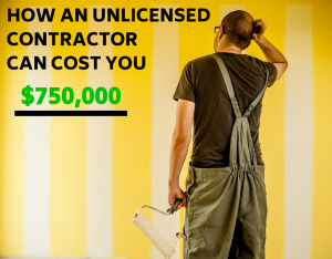 Unlicensed Contractor TruLine Painting