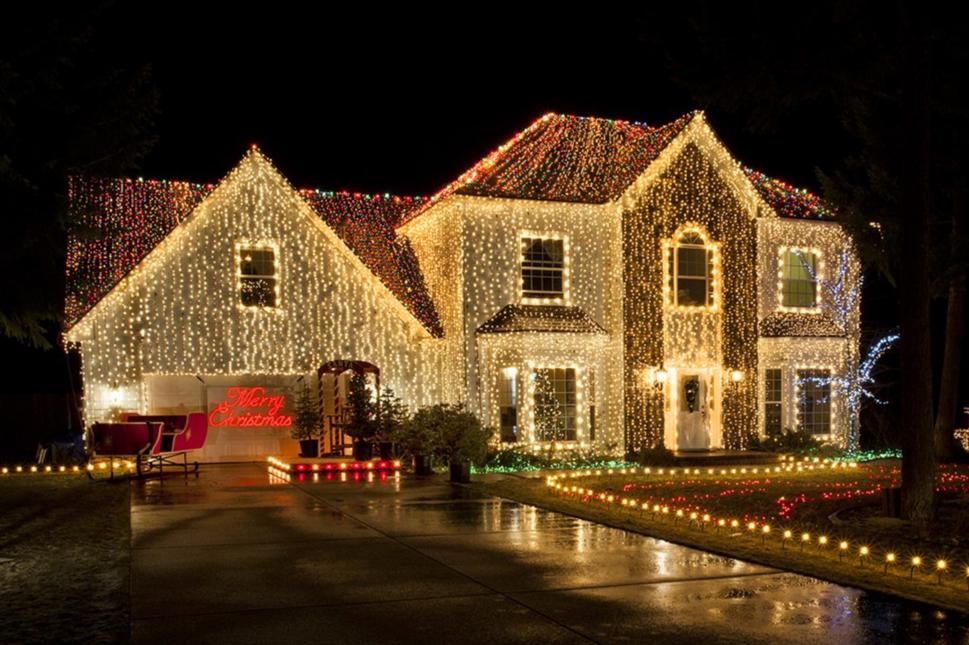 San Diego holiday lights