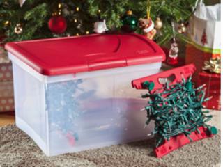 christmas lights storage